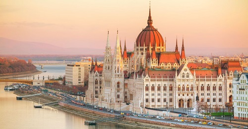 Budapest Capital and most popular city of Hungary